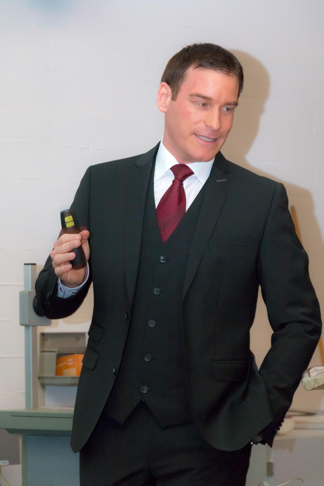 Dr. Florian Eder ist Rechtsanwalt in Freilassing. Bei seiner Arbeit hat er viel mit Schleusern zu tun.