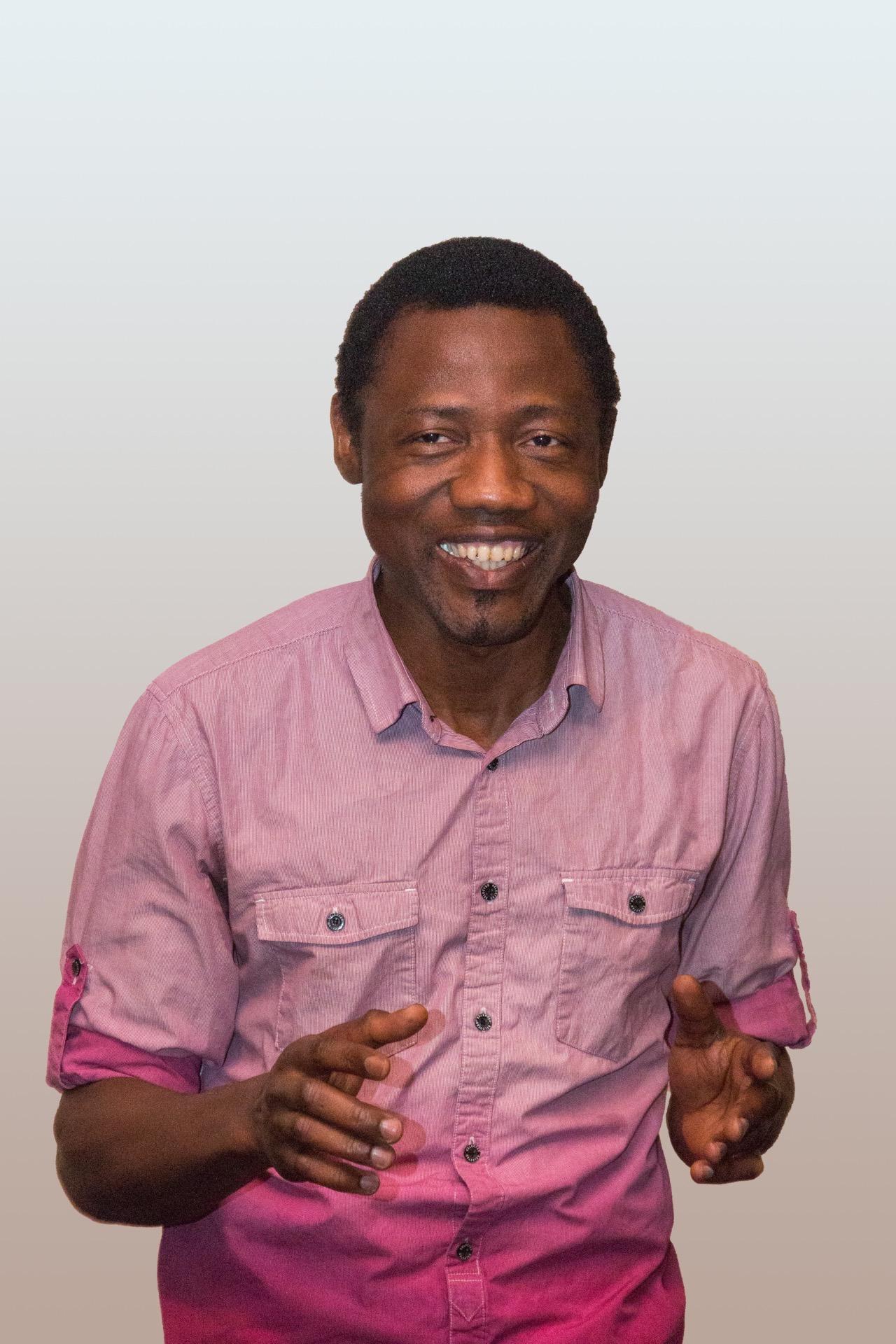 Ansumane Famah aus Sierra Leone möchte von den Menschen hier lernen, um den Menschen in seiner Heimat besser helfen zu können. (Foto: Bastian Winter)