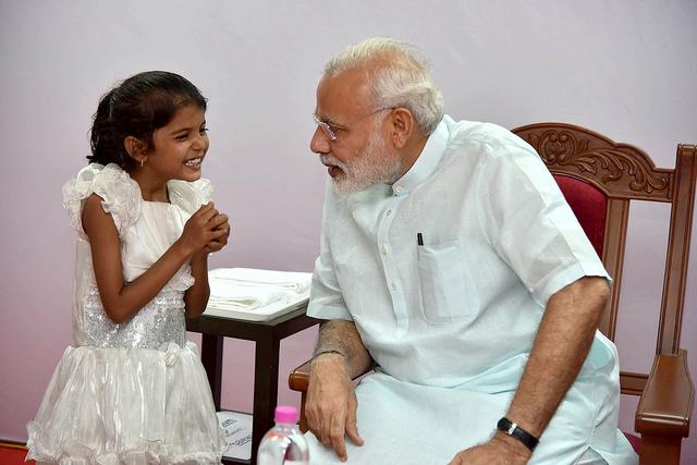 Narendra Modi ist seit 2014 Premierminister Indiens. Zuvor war er 13 Jahre lang Regierungschef des Bundesstaates Gujarat. (Foto: Narendra Modi auf Flickr, BY-SA-2.0)