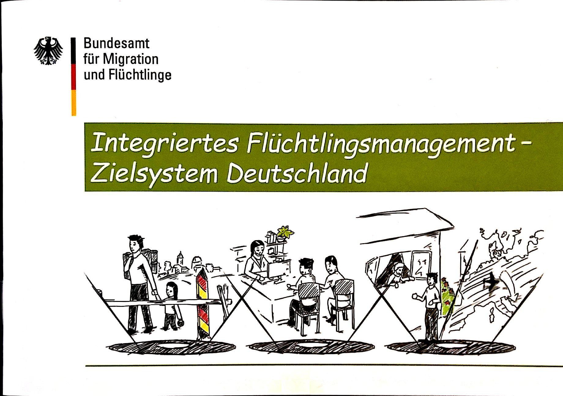 In einer Broschüre informiert das BAMF über geplante Reformen im Asylverfahren. (Grafik: BAMF)