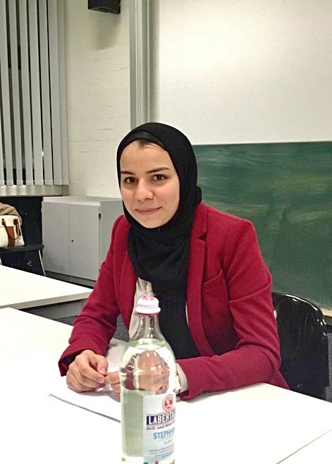 Aqilah Sandhu war zu Gast bei der RLC Regensburg. (Foto: Carmen Mohr)
